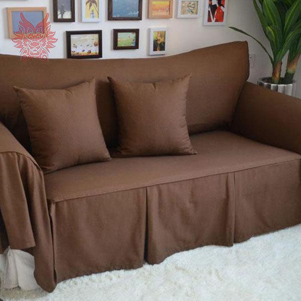 200 280cm 2015 new fashion multi color solid home textile 100 cotton sofa cover modern style. Black Bedroom Furniture Sets. Home Design Ideas