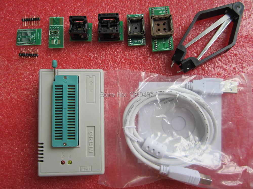 produto MiniPro TL866CS Prgrammer USB Universal Programmer /Bios Programme+6 pcs Adapter Free Shipping Dropshipping