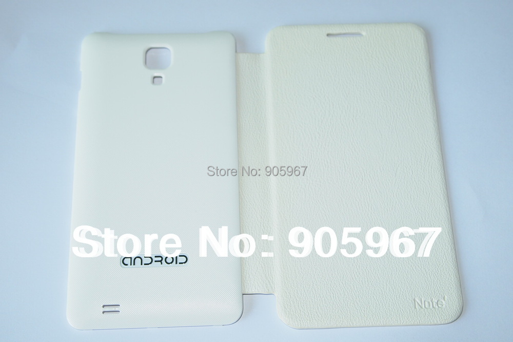 "New Protective Case Battery Cover Door for star 5.08"" MTK6577 N9000 i9220 N9770  smart cell phone  White"