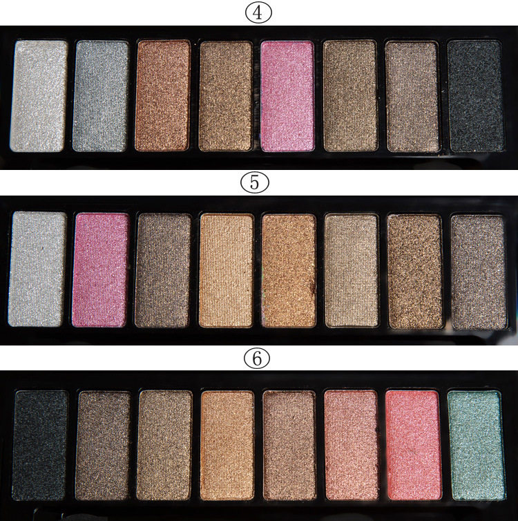 New Professional Maquillaje Palette 8 Colors Makeup Eyes Shadow Shimmer Long Lasting Matte Brown Eyeshadow Palette Set(China (Mainland))