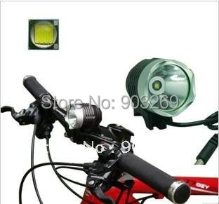 1Set 2 in1 T6 Bike Light & Headlight CREE XMLT6 LED1200 Lumens 3 Mode Waterproof Bicycle Light + 8.4v Battery Pack + Charger