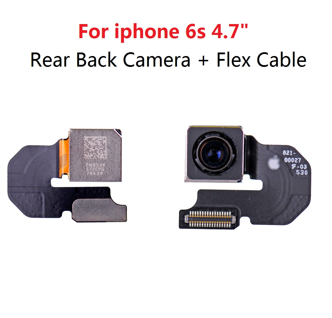 1pcs best quality Main Rear Back Camera + Flex Cable Ribbon Replacement Repair Part for iPhone 6S 4.7