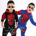 New 2 Styles Blue Black Children Spiderman Home Wear Halloween Boys Spiderman Costume Carnival Party Clothing
