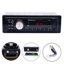 Car Stereo Audio Player In-Dash FM Aux Input Receiver SD USB In Dash Music MP3 Radio Player(China (Mainland))