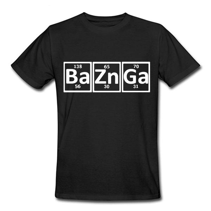 Hot Sale The Big Bang Theory T Shirts Men Short Sleeve O