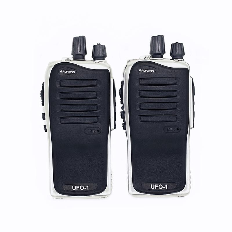 Baofeng Walkie Talkie 2PCS UFO-1 UHF 400-470MHz Fashion Design High Qulity Cheap Price BF-888S Upgraded Version Portable Radio(China (Mainland))