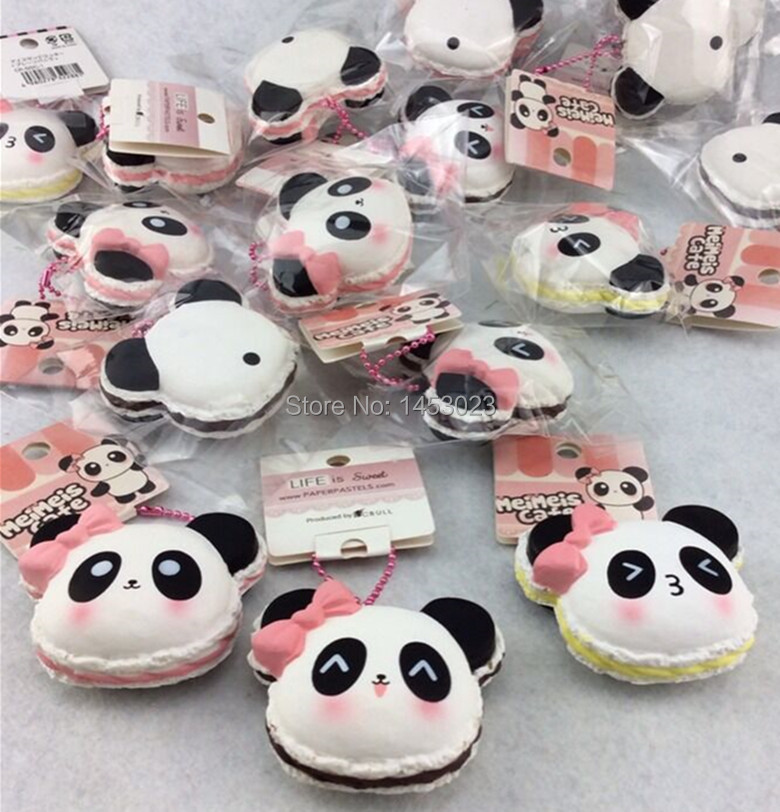 Squishy Tag 2015 : Aliexpress.com : Buy 2015 new squishy Slow Rise 3 Styles Sweet Bakery Panda Pancake Squishy ...