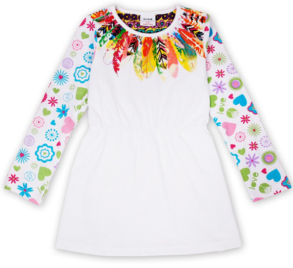 Free shipping 2013 new 5pcs/lot spring cotton casual style girl's colorful pringting leaves sequin tunic t shirt