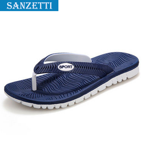 Rubber EVA flip flops Beach slippers Sandals Men Home Slippers Flip Unisex Fashion Outdoor Sanzetti