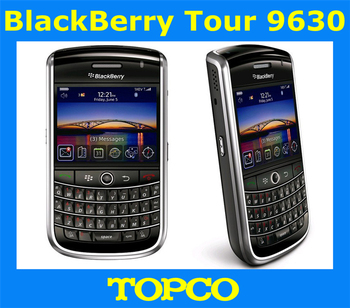 Original BlackBerry Tour 9630 GSM&CDMA 3.2MP GPS QWERTY Keyboard Unlocked Mobile Phone Free Shipping