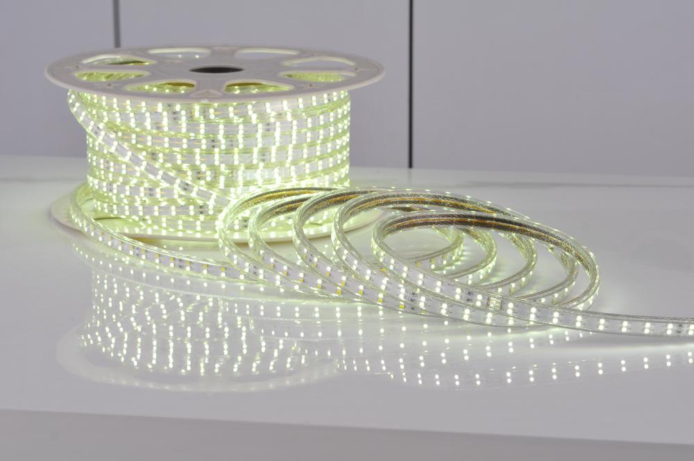 warranty 3years cree chip high lamp 50m/lot waterproof 5050 RGB LED strip light tape 120v -240v string ribbon outdoor light(China (Mainland))
