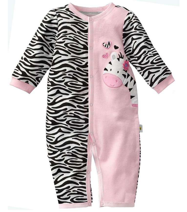 First Moments Retail 1pcs Zebra Baby Rompers Baby Girl S