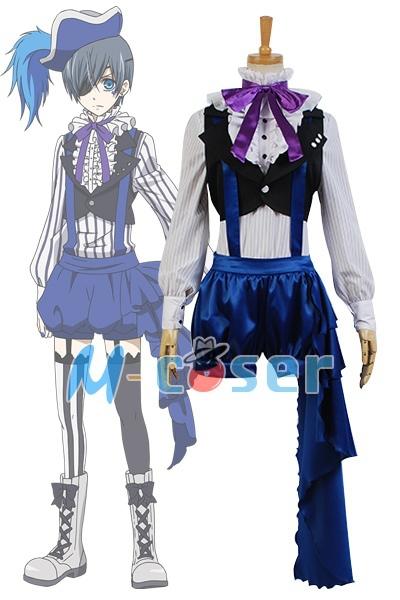 1Set/Lot Black Butler Ciel Phantomhive Uniform Outfit Cosplay CostumeОдежда и ак�е��уары<br><br><br>Aliexpress