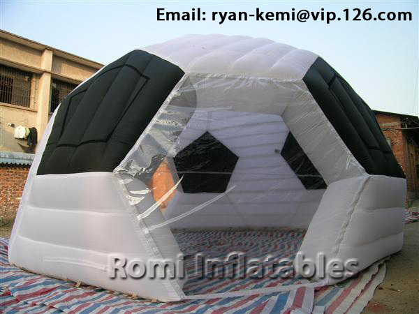 Inflatable football tent Inflatable soccer tent Inflatable sports tent inflatable dome tent(China (Mainland))