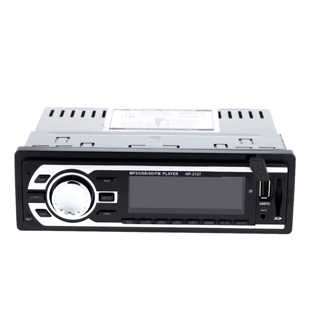 Car Mp3 Stereo FM Radio Car Audio Player Receiver In-Dash FM Aux Input WMA WAV MP3 Player with SD/USB Port Auto Memory Storation(China (Mainland))