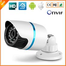 Megapixel HD 720P IP Camera Outdoor IR Bullet Waterproof 1280*720 CCTV Camera IP Megapixel 3.6MM Lens IR Cut Online Phone View(China (Mainland))