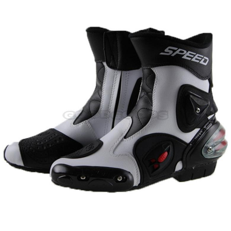 2016 New PRO-BIKER motorcycle boots men bota motocross botas moto motorboats shoes Motorbike racing career bicycle speed boots(China (Mainland))