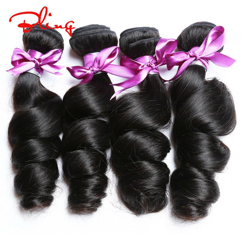 New Best Brazilian Virgin Hair Loose Wave 2pcs Aliexpress Uk Human Hair Extensions Brazilian Loose Wave Natural Black 8-30inches<br><br>Aliexpress