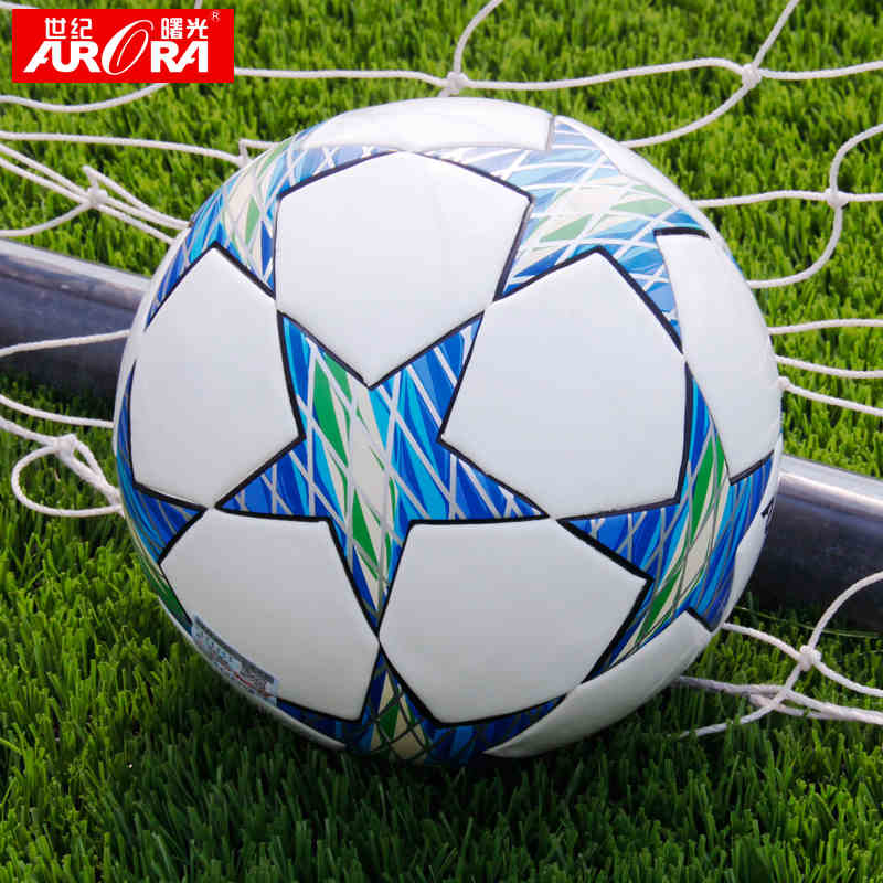 NEW FURRA 12 Color Top Grade Fashion Size 5 Anti-slip Pure Hand Sewn Soft League Soccer Football Ball For Training Competition(China (Mainland))