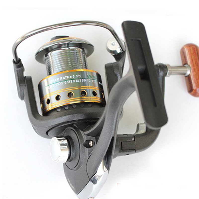 Free Shipping CF5000 5.0:1 8BB Fishing Reel Fishing Reels spinning reel a Lures round Before discharge power metal cord reel(China (Mainland))
