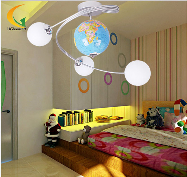 Lights ceiling boy children bedroom ceiling children 39 s for Kids ceiling lights for bedroom