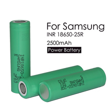 3 pcs. Original INR18650 25R 18650 2500 mAh lithium battery discharge 20A Electronic Cigarette Rechargeable batteries
