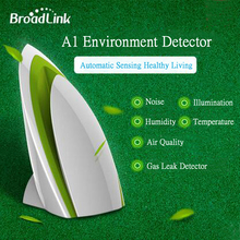 Broadlink A1 E-air Smart Air Quatily Detector Testing smart Home Automation Air Humidity PM2.5 Intelligent Home Systems WIFI