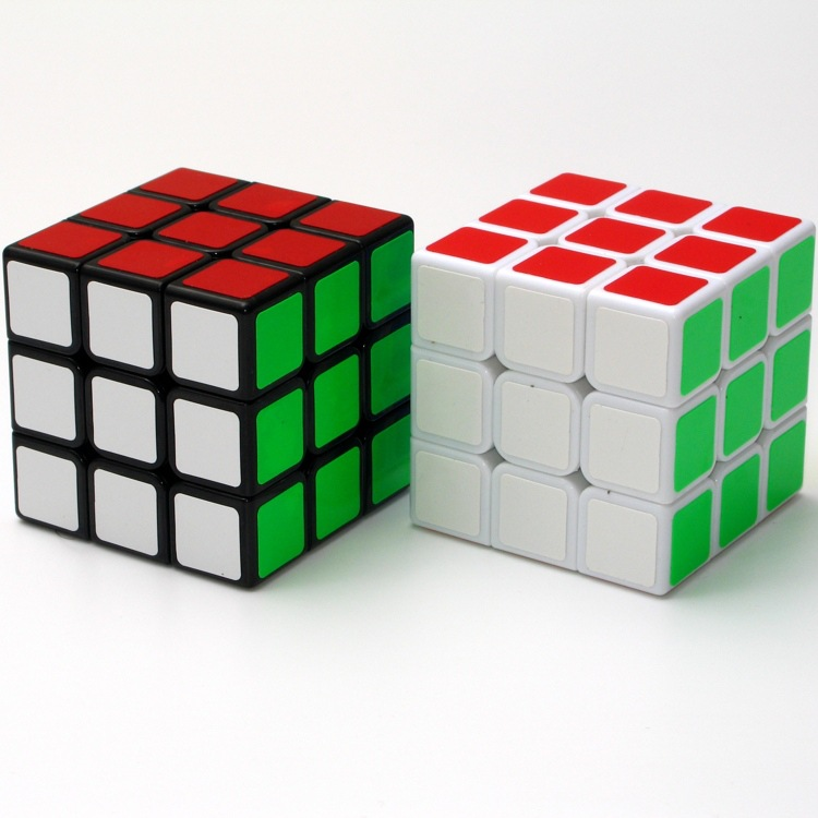 1 Pcs Random Delivery 3x3x3 Speed Cube Stickerless Colorful Learning&Educational Magic Cubo Magico Toys Puzzle Cube(China (Mainland))