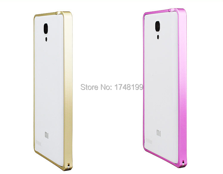 10pcs/pack Xiaomi Hongmi Note Buckle Metallic Bumper Frame Mobile Phone Accessories Mobile Phone Bag