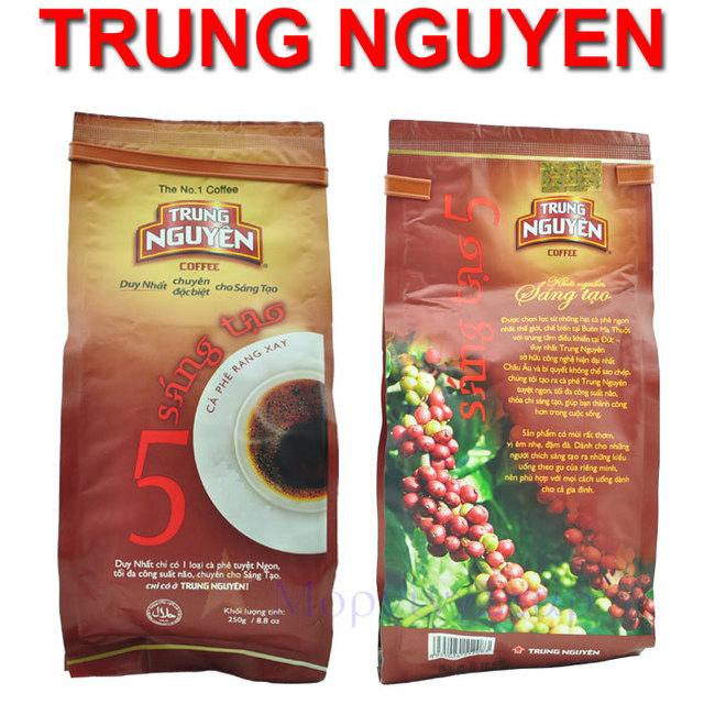 250g Original TRUNG NGUYEN 5#  Ground Coffee Power