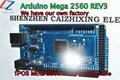 Mega2560 R3 with LOGO MEGA 2560 R3 ATmega2560 16AU ATMEGA16U2 MU 10pcs Board 10pcs USB Cable