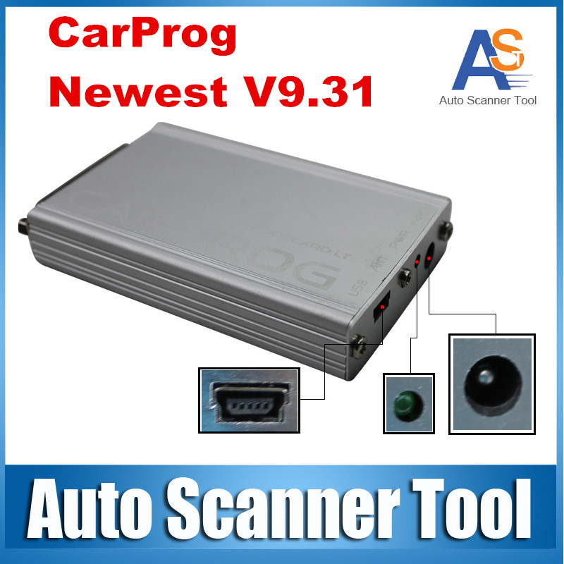 China Cheap Price Car Prog Car Dashboard Programmer Carprog 9.31 ECU Reset Tool Car-prog V9.31Full 21 Adapters(China (Mainland))