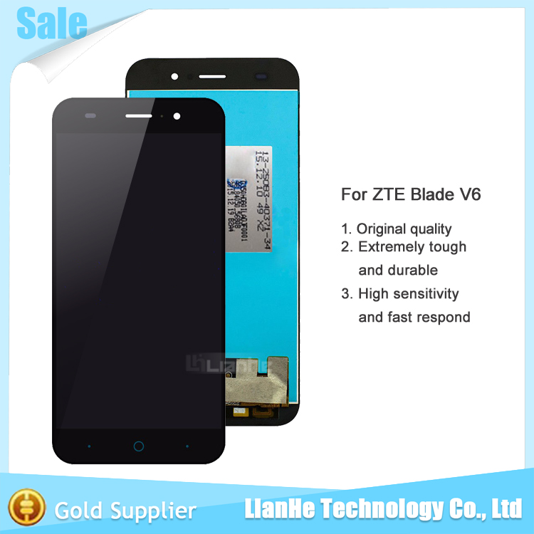 5 0 inch Black Full LCD DIsplay Touch Screen Digitizer Assembly font b Replacement b font