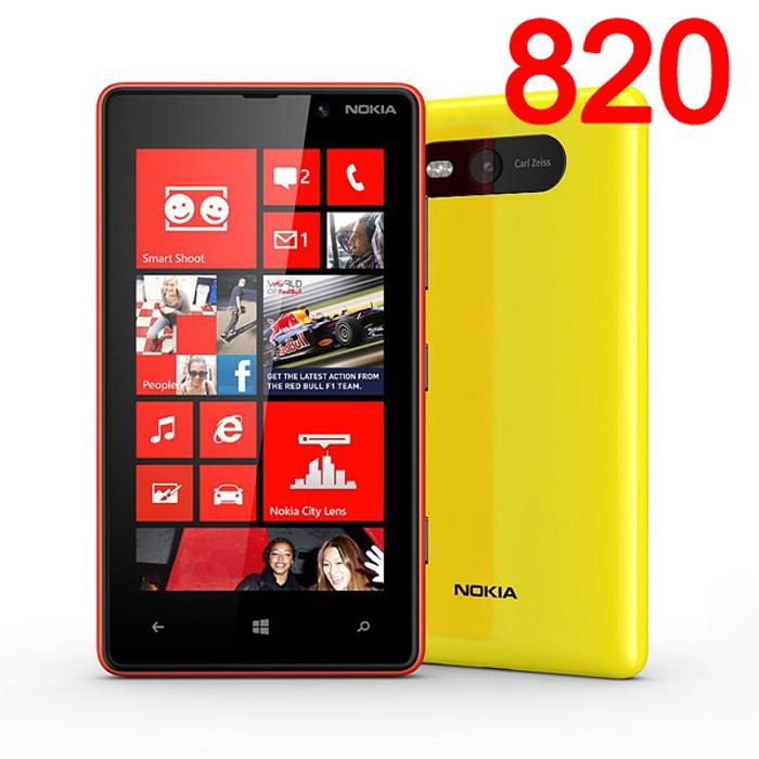 Original NOKIA Lumia 820 Mobile Phone Windows Phone Unlocked refurbished Perfect Phone(China (Mainland))