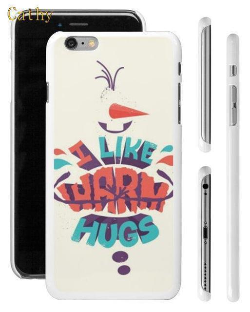 Case iPhone 4/4S/5/5S/5C/6/6S/6Plus/6SPlus Frozen Olaf