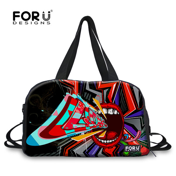 New Design Women Men Luggage Bags Outdoor Sport Totes Large Capacity Travel Duffle Bags Fashion Multi-function Hip-hop Girl Bag<br><br>Aliexpress