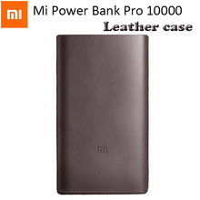 Original Xiaomi Mi Power Bank Pro / 2 10000mAh Pouch Mi Powerbank Pro 10000 Poewer Bank 2 Case PU Leather protective Cover(China (Mainland))
