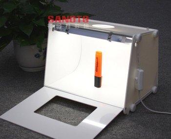 Wholesale Professional Portable Mini Photo Studio Photography Box MK30 For Network(eBay) Seller 310*225*230mm For 220/110v AC