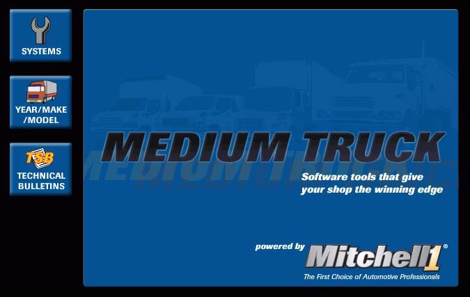 Mitchell OnDemand 5 Medium Trucks Edition(China (Mainland))