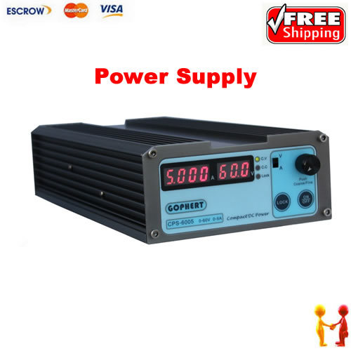 Small Volume CPS-6005 60V 5A compact adjustable Switch-Mode switching DC Power Supply<br><br>Aliexpress