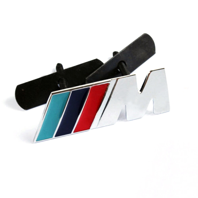 Гаджет  M Power Car Front Grille Badge 3D metal Logo Emblem Fit For BMW M3 M5 M6 None Автомобили и Мотоциклы