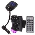 Free Shipping LCD Car Kit MP3 Bluetooth Player Audio FM Transmitter FM Modulator Radio ME3L