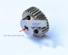 Buy 3pcs/lot Spur Gear pinion 25T 25 Teeth Mod 1 M=1 Bore 6/6.35/7/8/10/12/12.7mm Right Teeth CNC gear rack transmission RC car for $13.99 in AliExpress store