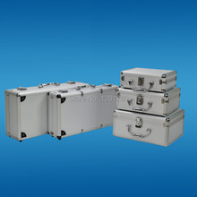 free shipping 225*170*85mmPortable aluminum toolbox instrument case medicine equipment part toolcase Cosmetic Box tool packaging(China (Mainland))