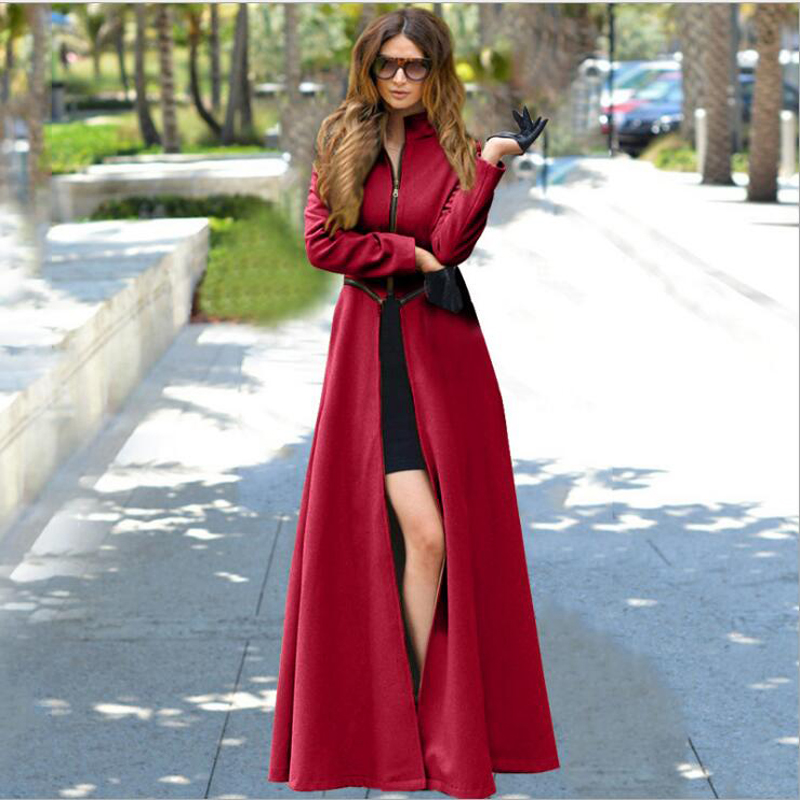 Compare Prices on Long Red Coats- Online Shopping/Buy Low Price ...