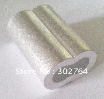 aluminum FERRULES TO SUIT 10MM*50PCS STAINLESS WIRE ROPE free shippingmarine hardware