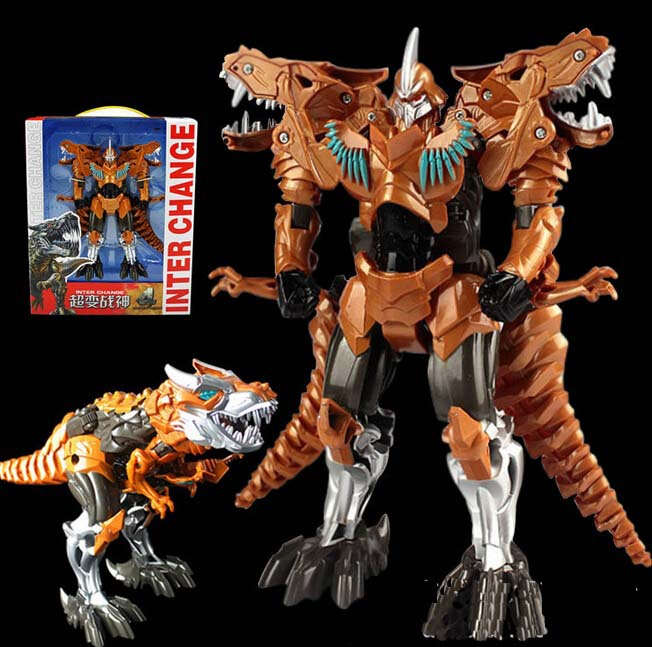 Mainan Robot Dinosaurus Transformtion Robot Mainan