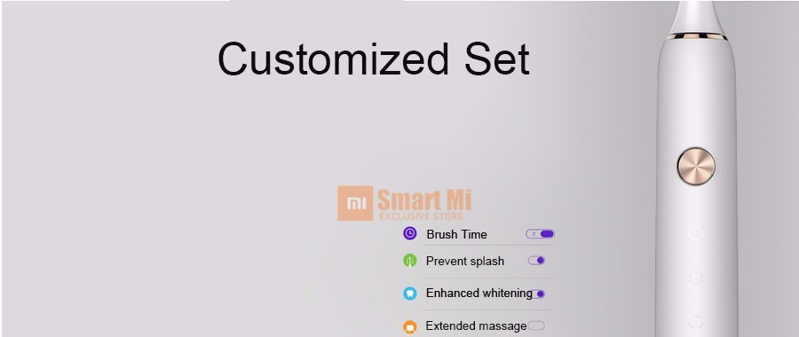 In Stock! Xiaomi Soocare X3 Soocas Smart Toothbrush Bluetooth Waterproof Wireless Charge Android and IOS Mi Home APP Control