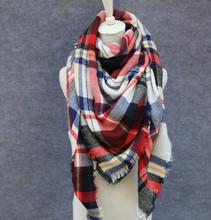 winter scarf 2016 font b Tartan b font Scarf women designl Plaid Scarf cuadros New Designer