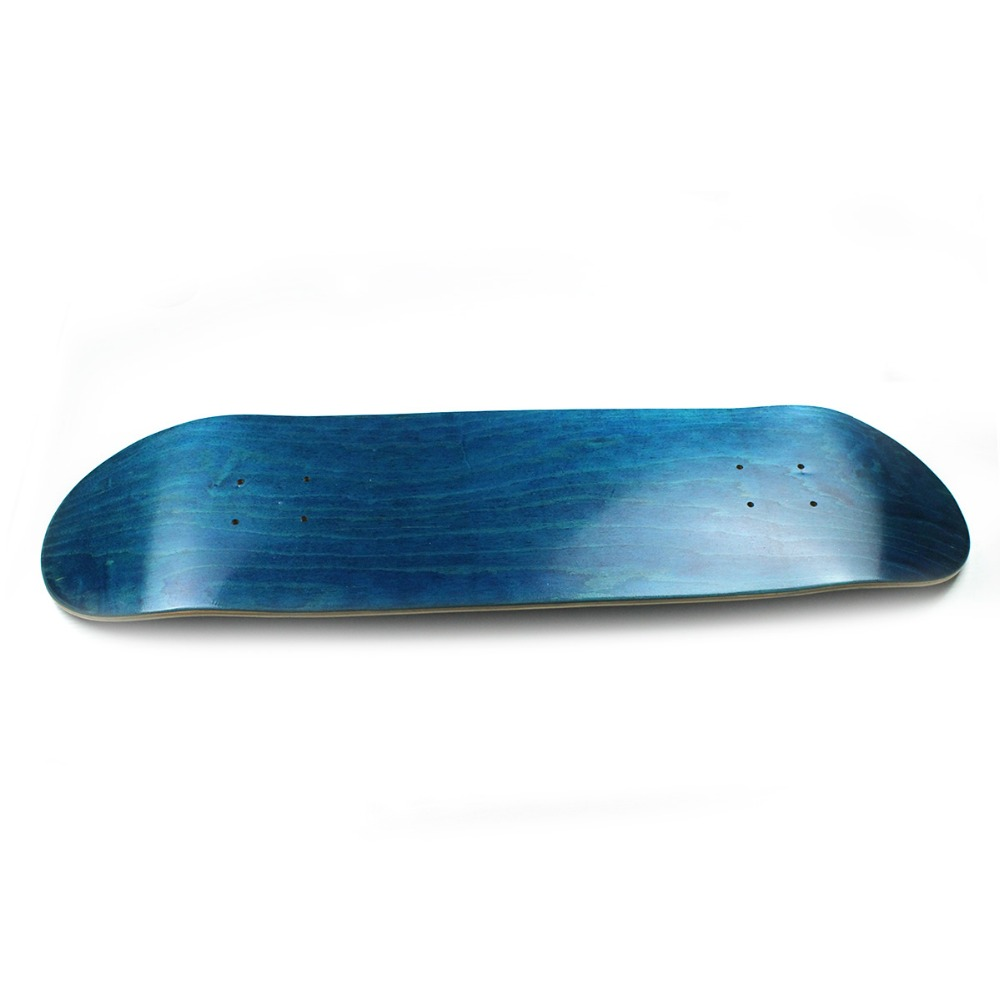 New fashion maple double rocker planche roulettes pont 9 blanc de bricolage - Planche de skateboard vierge ...